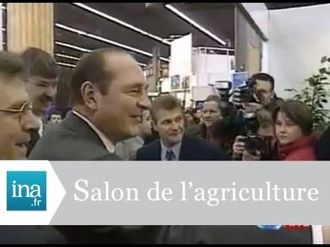 jacques chirac inaugure le salon de l 39 agriculture 1996