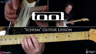 Schism Guitar Lesson - Tool