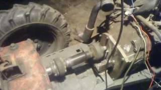 DZIK 2-21 traktorek sam