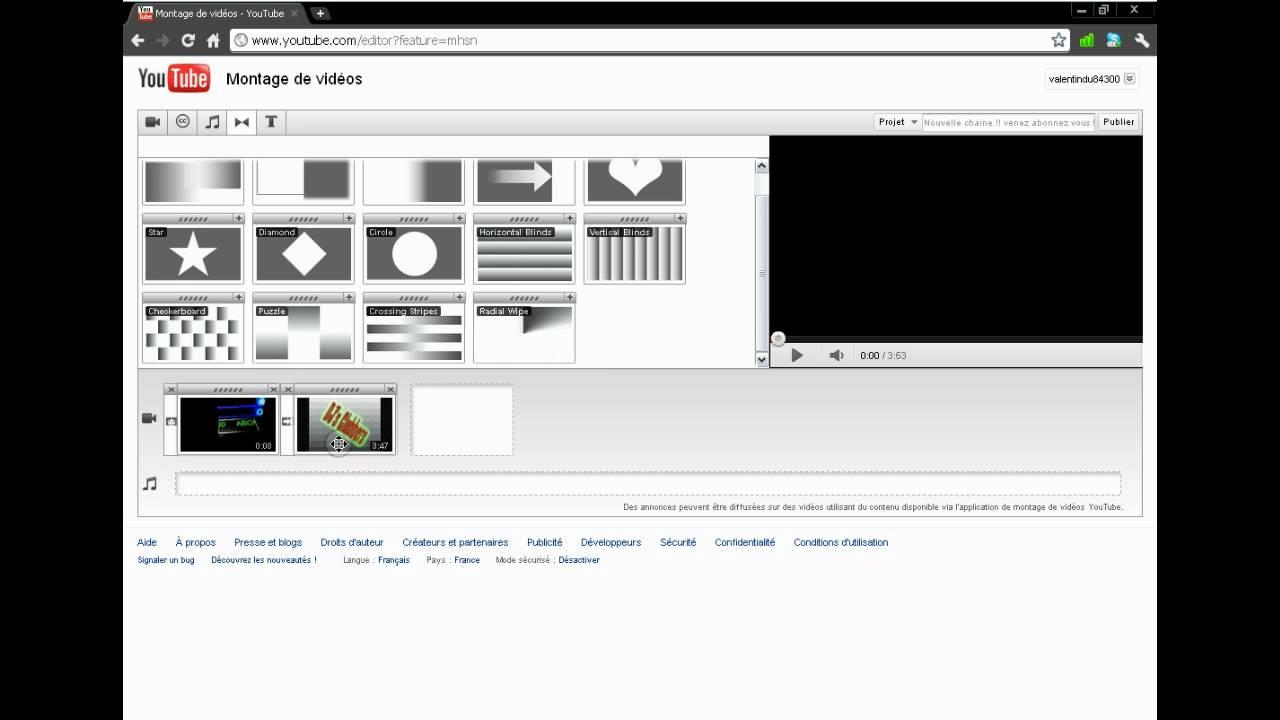 creer un montage sans logiciel - YouTube