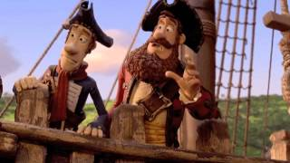 The Pirates Band of Misfits 3D Official Trailer 2012