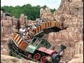Magic Kingdom Big Thunder Mountain Railroad New Interactive Queue and POV Ride Walt Disney World