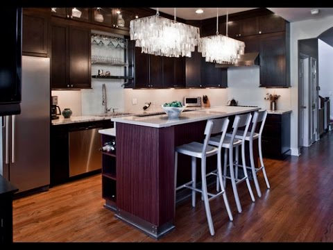 Modern Kitchen Island Lighting - YouTube