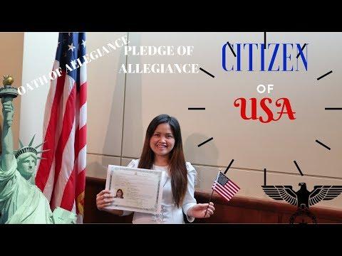 NATURALIZATION L  OATH CEREMONY L  How To Get A U.S Passport