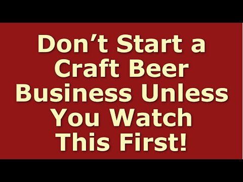 How to Start a Craft Beer Business | Including Free Craft Beer Business Plan Template
