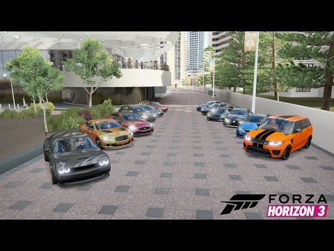 Forza Horizon  Car Meet Drag Race