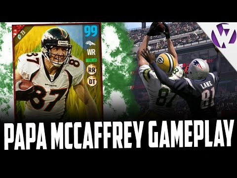 PAPA MCCAFFREY IS STILL A BEAST!!! - MADDEN 17 EASTER ED MCCAFFREY GAMEPLAY