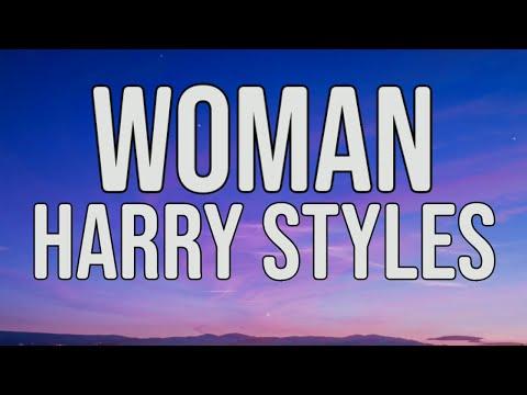 Harry Styles - Woman (Lyrics Video)