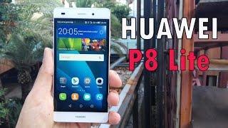 Huawei P8 Lite, desempaquetado y análisis completo en Español