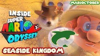 Super Mario Odyssey - Seaside Kingdom and Isle Delfino! (MARIOCTOBER)