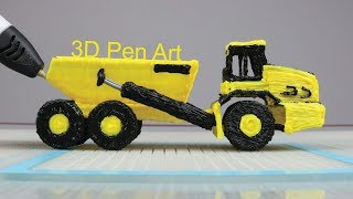 How to make JD 250D Truck Easy with 3DPen