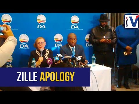 The DA and Helen Zille have reached a settlement over her controversial remarks about colonialism 01