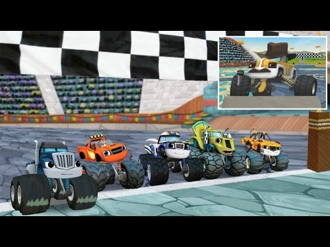 Blaze and the Monster Machines - Race to the Top of the World!