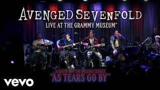 Video Avenged Sevenfold - As Tears Go By (Live At The GRAMMY Museum®) download MP3, 3GP, MP4, WEBM, AVI, FLV Januari 2018