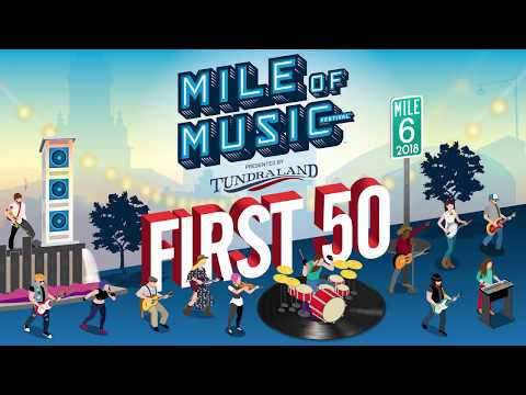 Mile of Music (Mile 6) First 50
