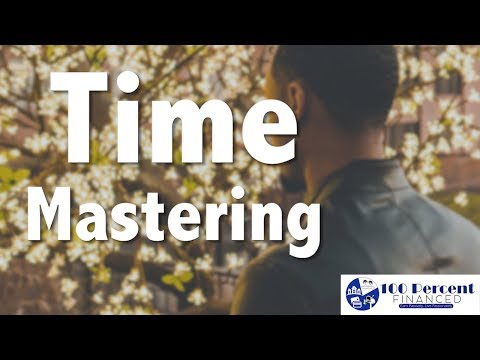 Always do the main thing despite how busy you are - Time Mastering