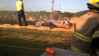 Craig County Demo Derby May 23, 2015 Heat One
