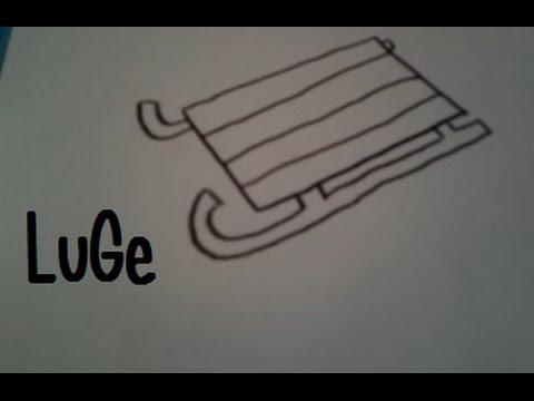 Dessiner Une Luge Youtube