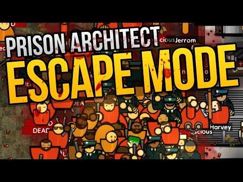 GIANT GANG FIGHT - Prison Architect Escape Mode ★ Escape Mode Gameplay
