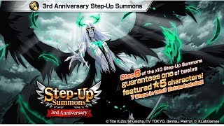 Bleach Brave Souls : Step-UP SUMMONS 3 Aniversario!!! Buscando Ulquiorra -Omega Play