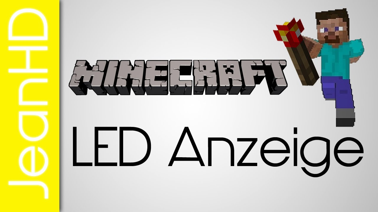 minecraft redstone led zahlen 7 segment anzeige youtube. Black Bedroom Furniture Sets. Home Design Ideas