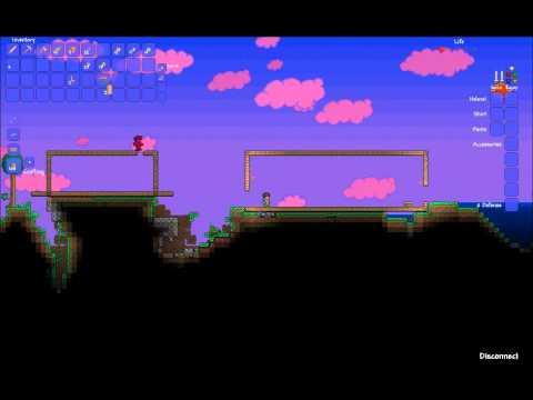 Terraria - Multiplayer - Epidsode one - The beginning