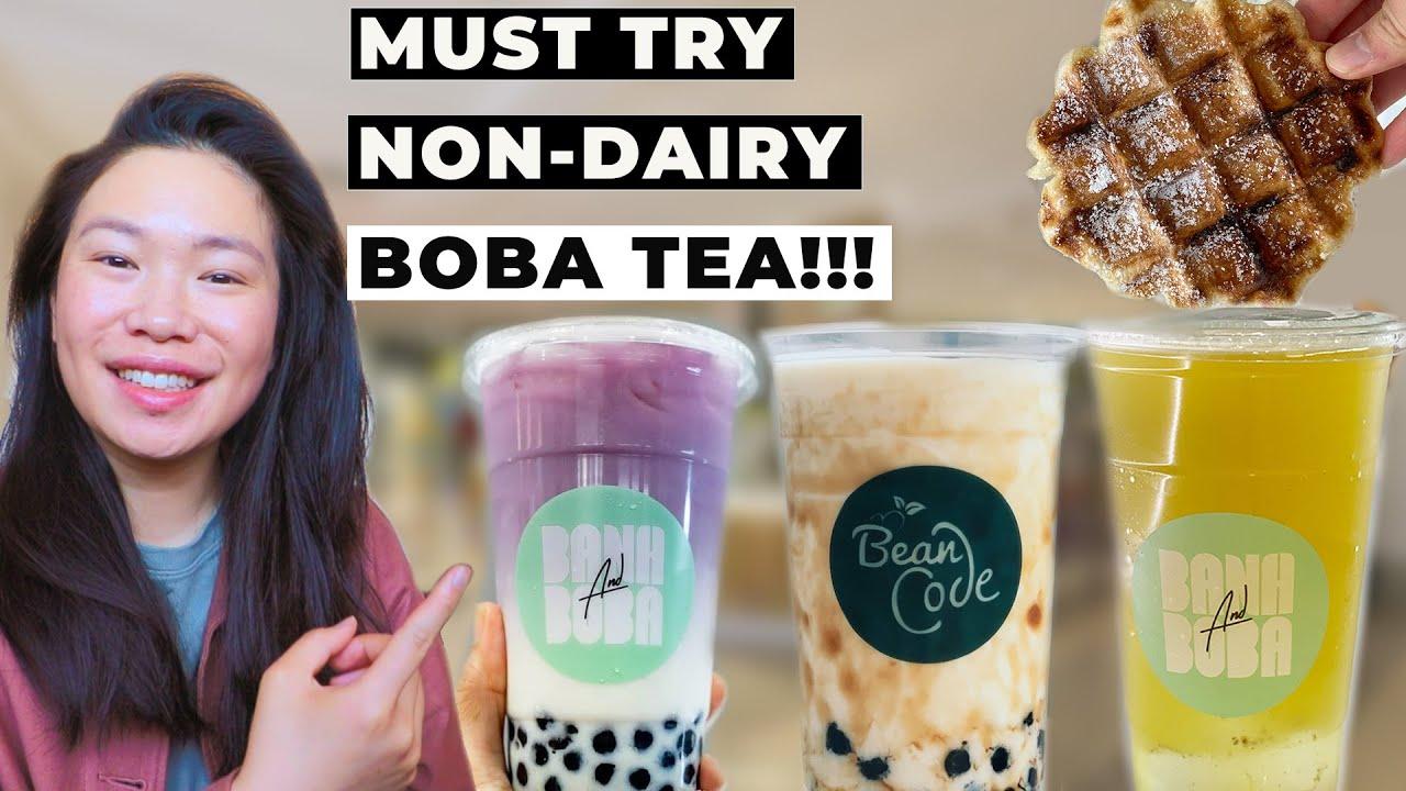MUST TRY DAIRY-FREE BUBBLE (BOBA) TEA in SYDNEY! (+Best Mochi Waffle & Tofu Pudding) 悉尼必試珍珠奶茶 + 豆腐花