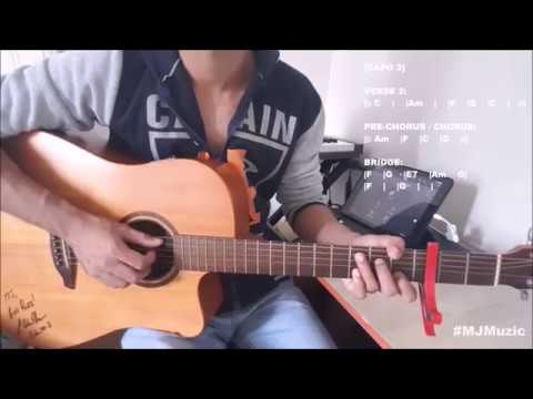 Bad Liar (Imagine Dragons) || Guitar Cover/Chords Tutorial - MJ ||