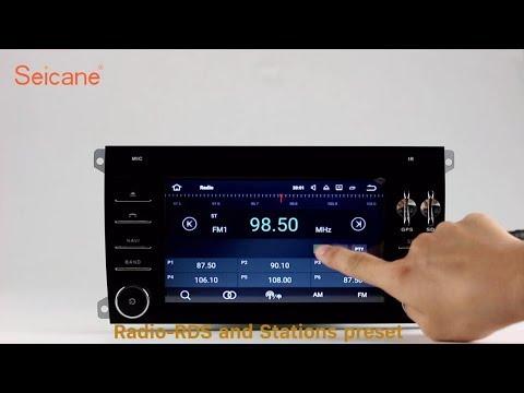 Aftermarket GPS 2003-2011 Porsche Cayenne Radio DVD Player Navigation system with Bluetooth Music