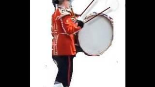 Wessex Band Bucky Doo Sq - 3D Bridport in Dorset where BROADCHURCH filmed