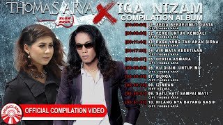 Thomas Arya & Iqa Nizam (Slow Rock) - Pergi Untuk Kembali [Official Compilation Video HD]