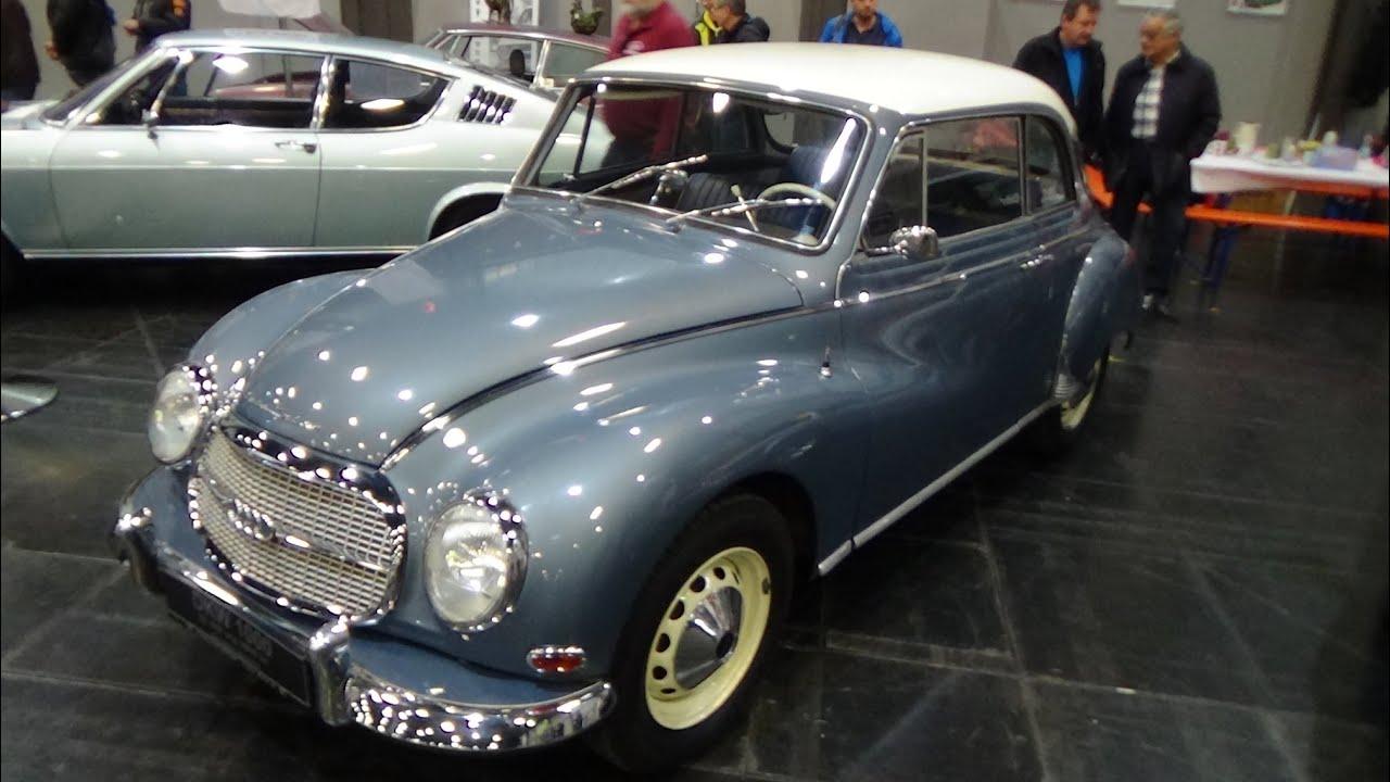 1958 Auto Union Dkw 1000 Youtube