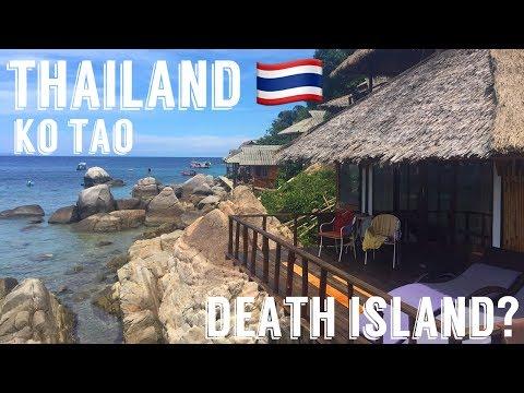 PARADISE ISLAND OR DEATH ISLAND? - KO TAO, THAILAND || VLOG