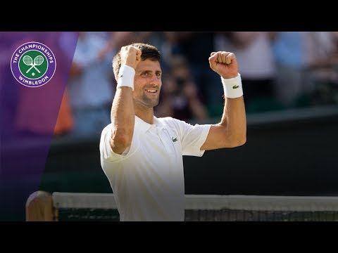 Wimbledon 2017 - Novak Djokovic knocks out Ernests Gulbis in three sets