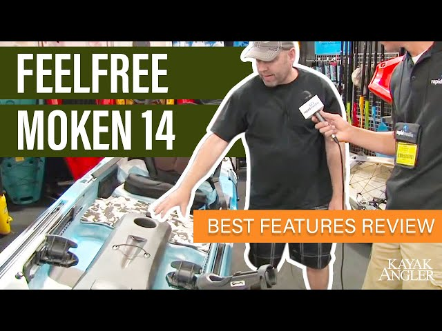 Feelfree Moken 14 🎣 Fishing Kayak 📈 Specs & Features Review and Walk-Around 🏆