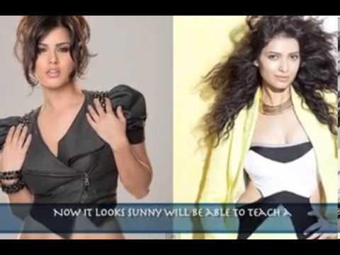 Sunny Leone And Karishma Tanna Lip-Lock