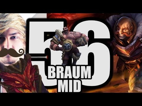 Siv HD - Best Moments #56 - BRAUM MID!?