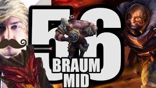 Siv HD   Best Moments #56   BRAUM MID!?