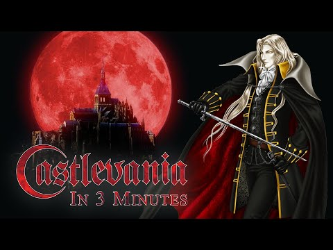 The Story of Castlevania in 3 Minutes!