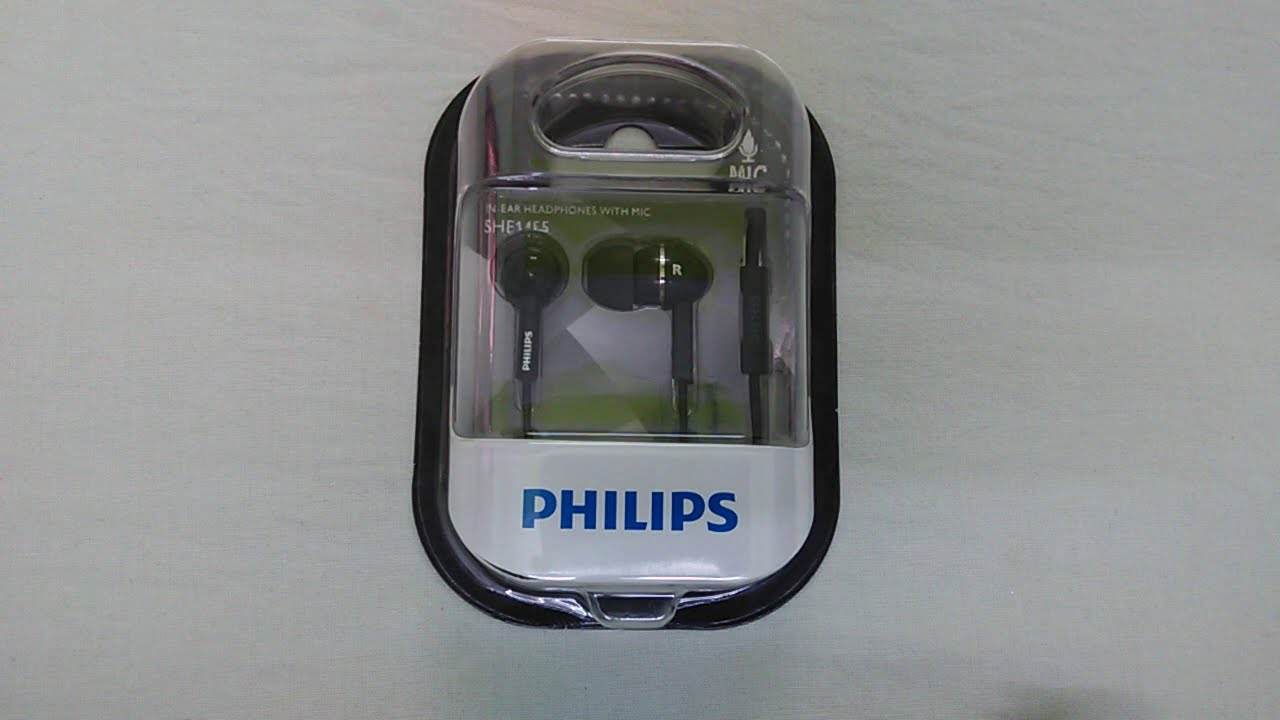 Philips She1455 In Ear Headphones Review Youtube Earphone She 3590