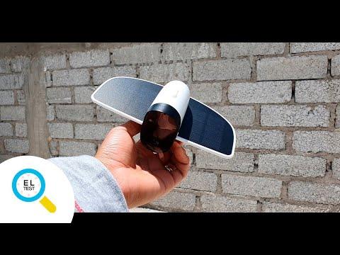 Cámara inteligente de seguridad SOLAR | El test