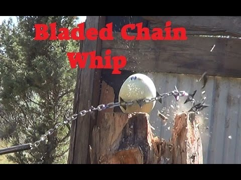 bladed chain whip!