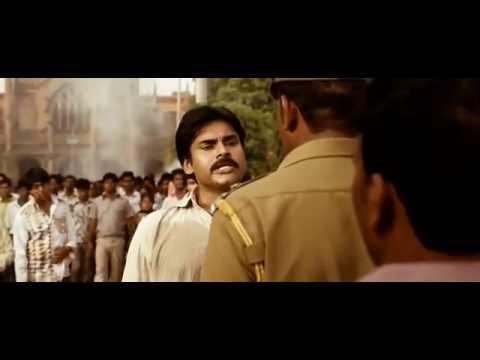 Pawankalyan Powerful Dialogue In Teenmar movie...