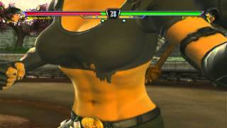 Sonya: Camera Closeups (EVERYTHING) MK vs DC