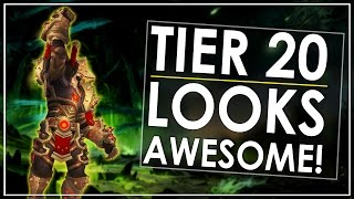 Tier 20 Gear Preview  - One Of The Best Tiers Yet?! - Patch 7.2