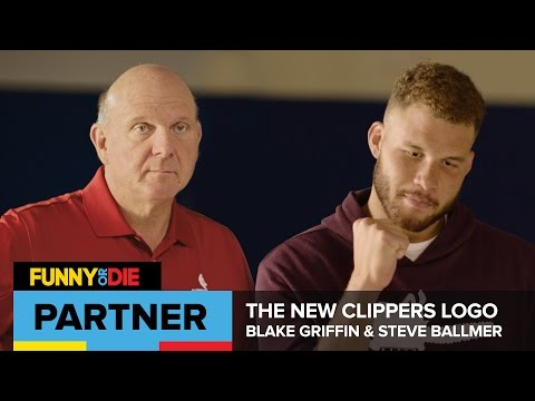 Blake Griffin And Steve Ballmer Unveil The New Clippers Logo