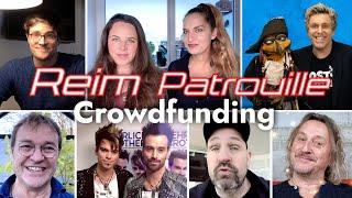 Reim Patrouille – Promi-Reime zum Crowdfunding