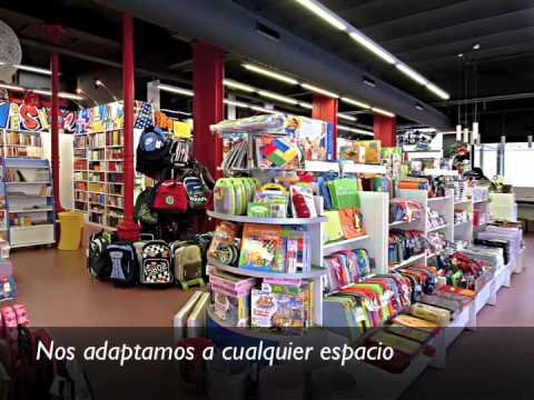 Fustcom · Especialistas en diseño integral de librerías - YouTube