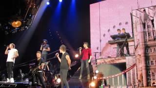 One Direction in Concert singing C'mon C'mon at Mandalay Bay Las Vegas 8/3/13