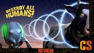 DESTROY ALL HUMANS - PS4 REVIEW (Video Game Video Review)